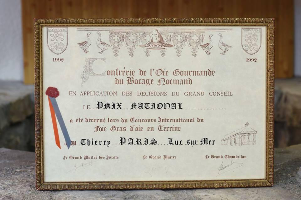 Prix National de Foie Gras