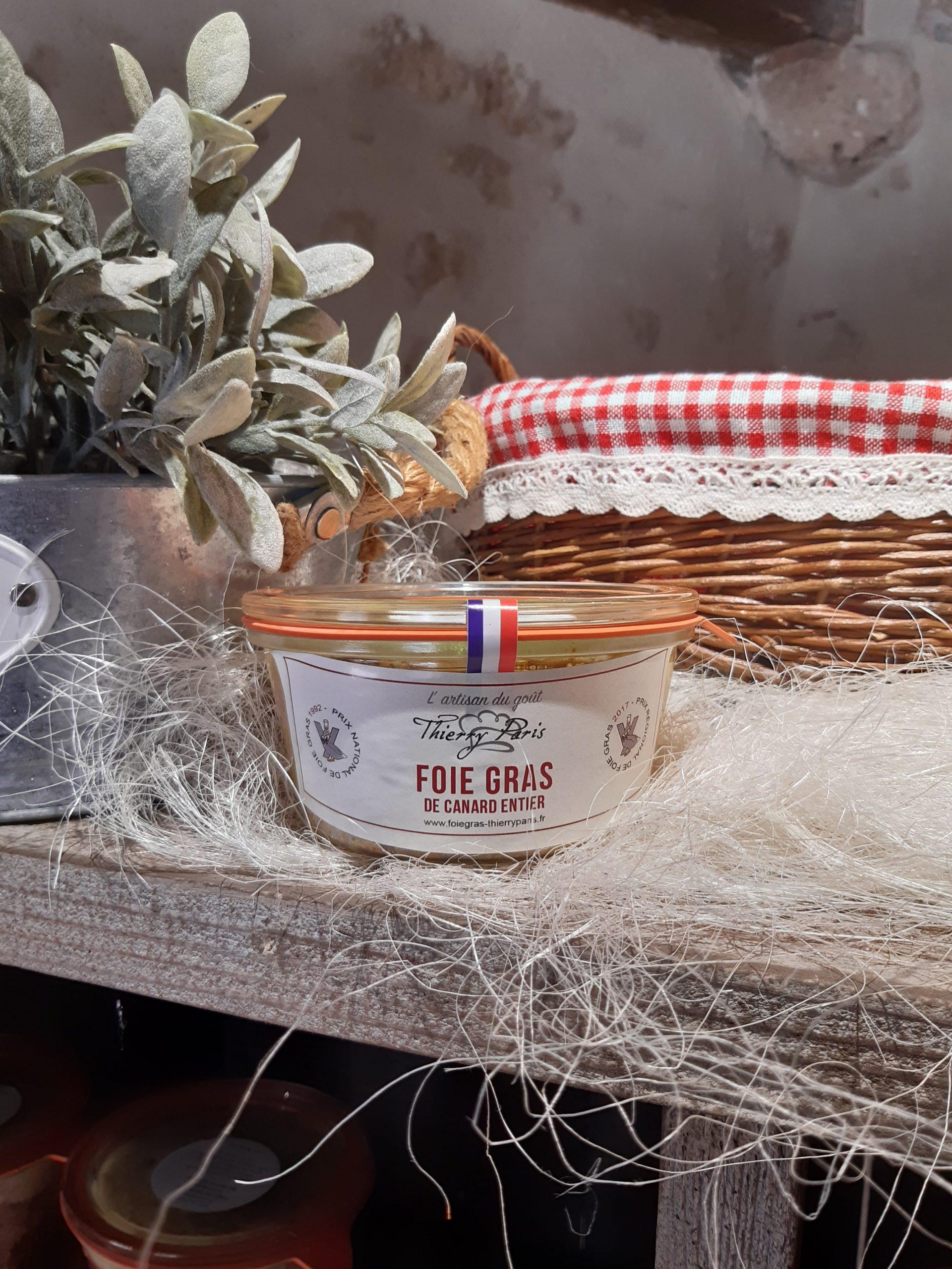 foie gras canard entier 200 gr