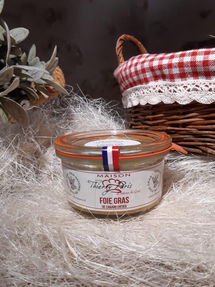 verrine foie gras canard entier