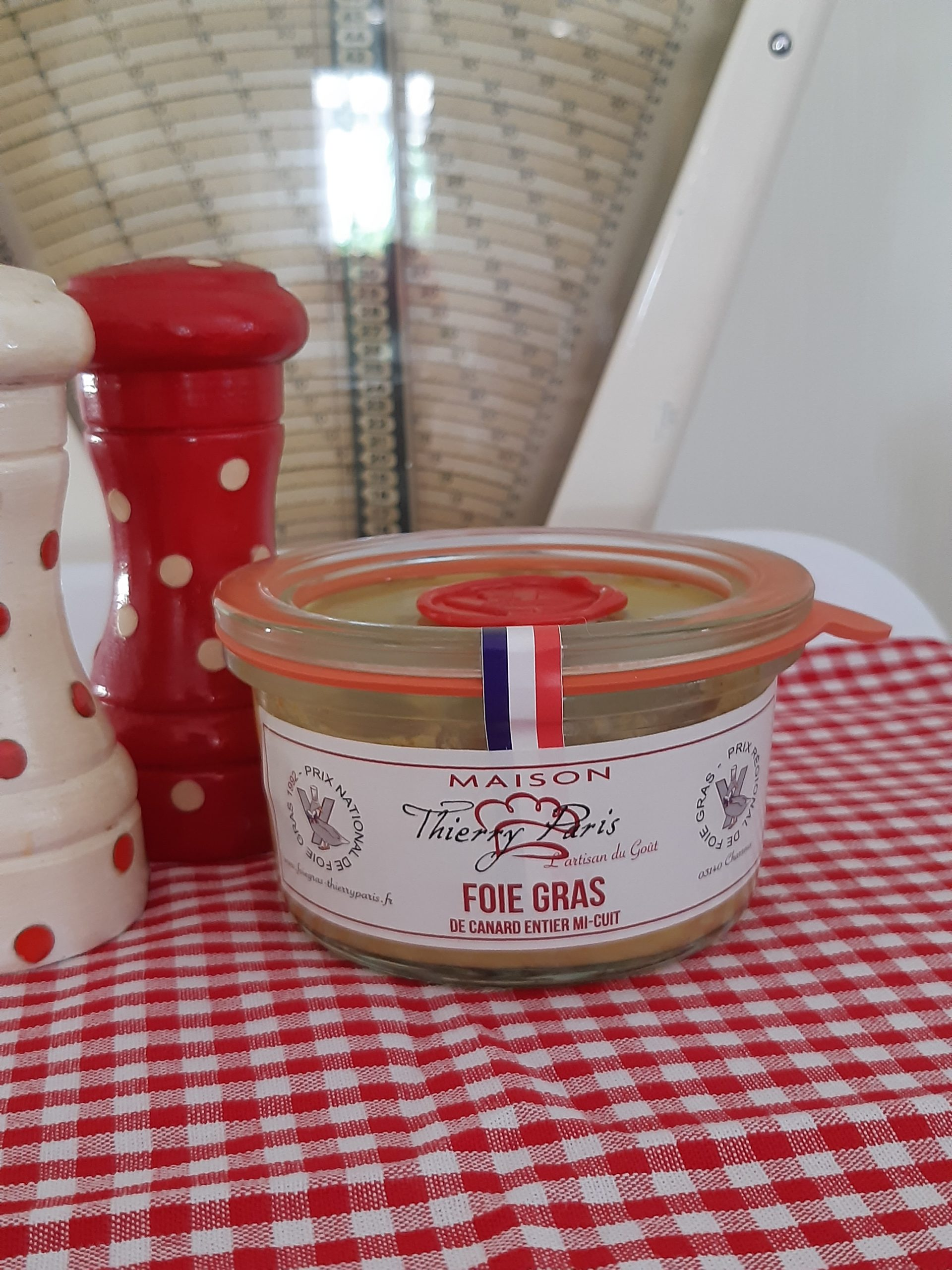 verrine 100 gr foie gras mi-cuit