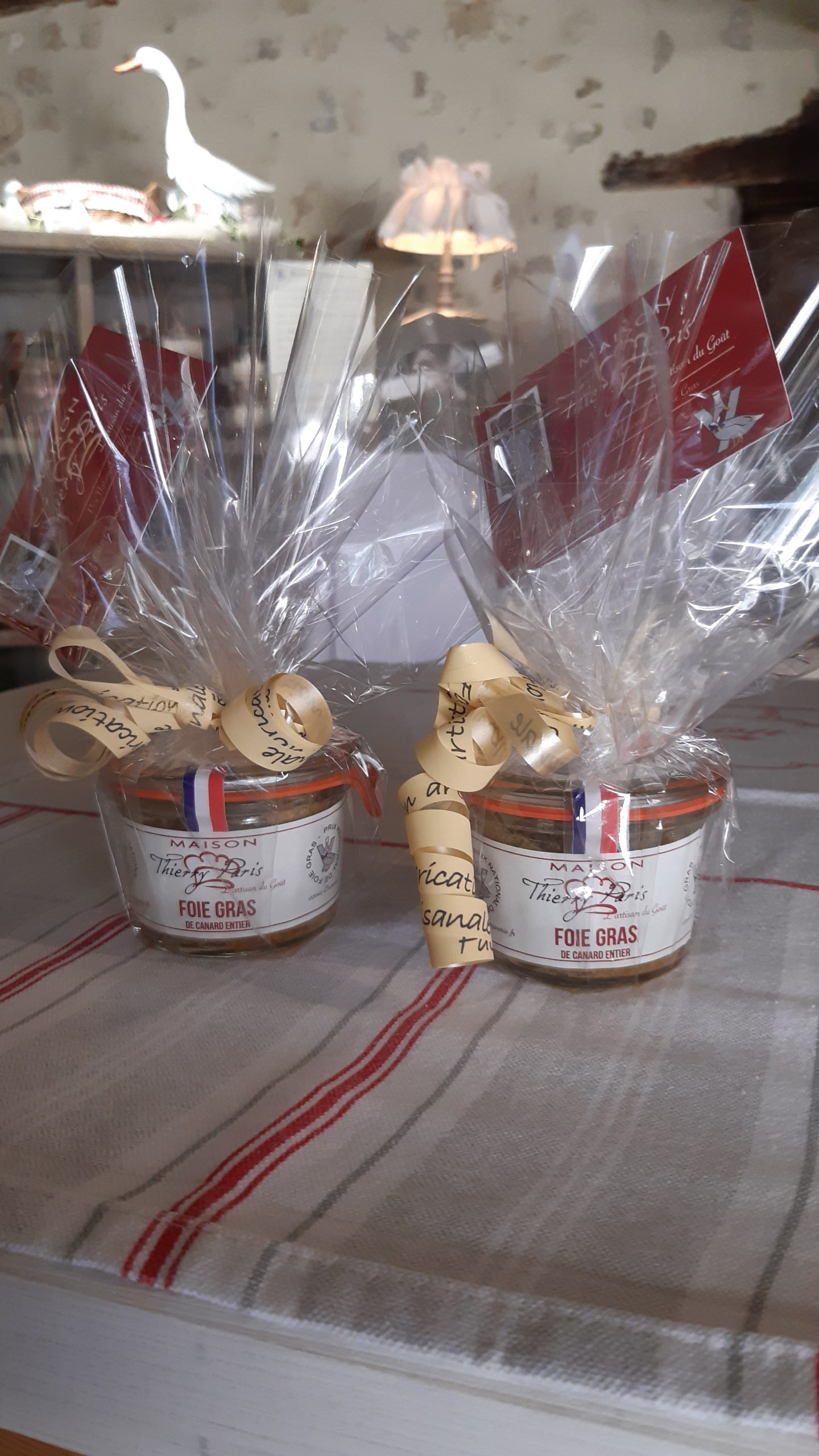 assortiment verrine canard fois gras